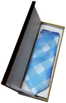 Navaksha Gift Set Self Design Men's Tie