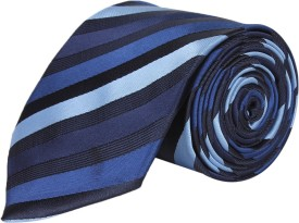 SilkandSatin Fine Stripes Striped Men's Tie