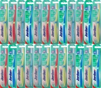 Jordan Kids Click Gum Protector Soft Toothbrush- Pack Of 24 (Color May Vary) (Multicolor)