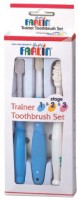 Farlin Three Stages Toothbrush (White, Blue)