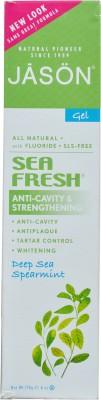 Jason Natural Toothpastes Jason Natural Sea Fresh Anti Cavity & Strenthening Spearmint Toothpaste