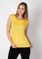 109F Casual Sleeveless Solid Women's Top
