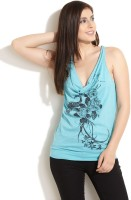 GAS Casual Sleeveless Printed Women's Top