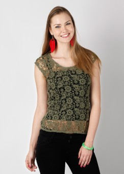 Compare Only Self Design Women Top: Top at Compare Hatke