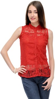 Klick Casual Sleeveless Floral Print Women's Top