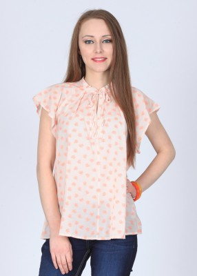 Get best deal for French Connection Casual Short Sleeve Printed Women