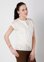 Wills Lifestyle Casual Solid Women's Top