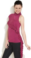 Remanika Casual Sleeveless Solid Women's Top