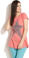 GAS Casual Short Sleeve Solid Women's Top