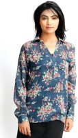 Vaak Casual Full Sleeve Floral Print Women's Top