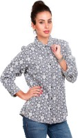 Swank Casual Full Sleeve Floral Print Women's Top