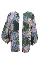 Indiatrendzs Casual Kimono Sleeve Printed Women's Top