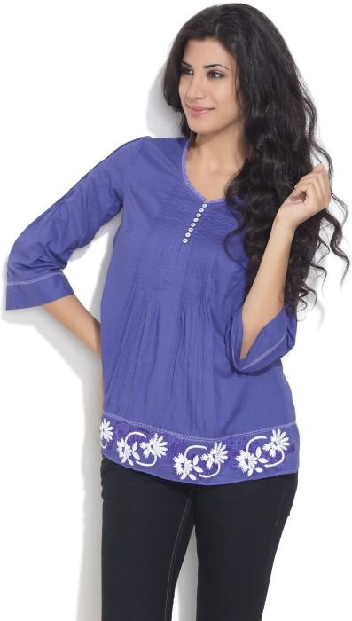 Remanika Casual 3/4 Sleeve Floral Print Women's Top - TOPDSQZPRRDHH2BY