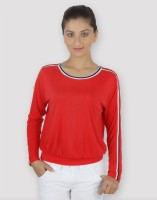 Martini Casual, Sports Full Sleeve Solid Women's Top