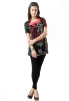 Glam & Luxe Casual Short Sleeve Printed Women's Top - TOPDT67YDEXE8HGR