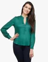 Besiva Casual Full Sleeve Solid Women's Top