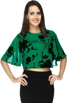 20Dresses Casual Bell Sleeve Floral Print Women's Top