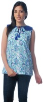 Co.in Casual Sleeveless Floral Print Women's Top - TOPDX93DYK5GWPTR
