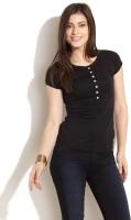 Wrangler Casual Short Sleeve Solid Women's Top