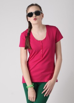 Compare FREECULTR Solid Women Top: Top at Compare Hatke