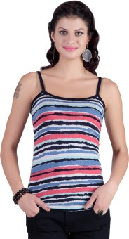 Life Casual Sleeveless Striped Women's Top Casual Sleeveless Striped Women's Top