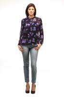 Meee Casual Full Sleeve Floral Print Women's Top