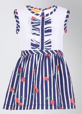 Buy UFO Casual Sleeveless Striped Girl's Top: Top
