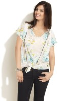Styletoss Casual Short Sleeve Printed Women's Top