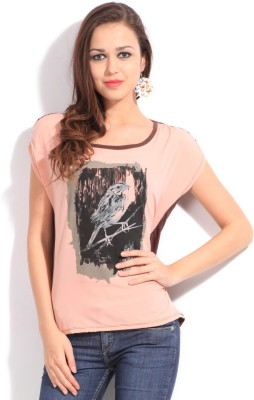 Get best deal for Allen Solly Casual Short Sleeve Printed Women