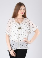 Mohr Casual Short Sleeve Printed Women's Top