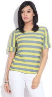 Mossimo Casual Short Sleeve Striped Women's Top