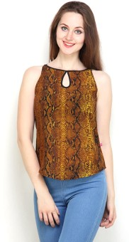 Tops And Tunics Casual Sleeveless Printed Women's Top - TOPE3FHEFA9VAZVX