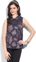 United Colors Of Benetton Casual Sleeveless Floral Print Women's Top