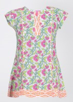 Biba Short Sleeve Printed Girl's Top