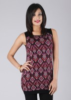 AND Casual Sleeveless Printed Women's Top