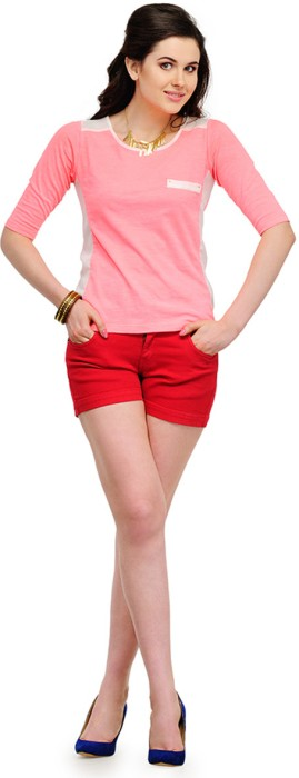 Yepme Casual Short Sleeve Solid Women's Top - TOPDSMCBRSTW8HY6