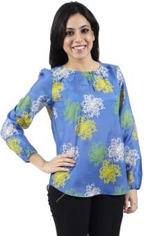 Ratan Jaipur Casual Full Sleeve Floral Print Women's Top