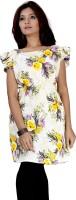 Kurtiz Casual Short Sleeve Floral Print Women's Top