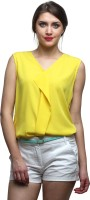 Faballey Formal Sleeveless Solid Women's Top