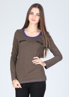Latin Quarters Casual Full Sleeve Solid Women's Top