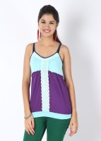 Inkfruit Casual Sleeveless Solid Women's Top