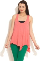 FREECULTR Casual Sleeveless Solid Women's Top