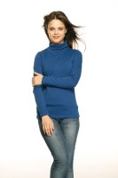 Gritstones Casual Full Sleeve Solid Women's Top