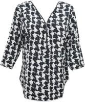 Indiatrendzs Casual Full Sleeve Printed Women's Top