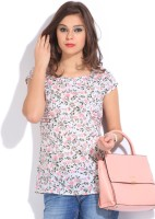 Style Quotient By Noi Casual Short Sleeve Floral Print Women's Top