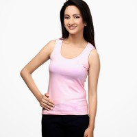 Happy Hippie Casual Solid Women's Top