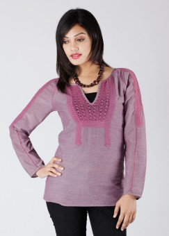 Compare The Vanca Embellished Women Top: Top at Compare Hatke