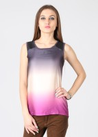 Latin Quarters Casual Solid Women's Top