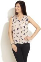 Styletoss Casual Sleeveless Printed Women's Top