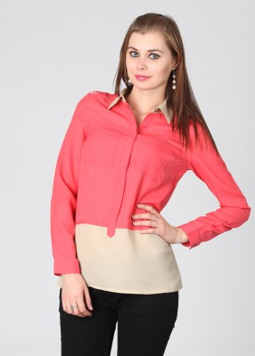 Get best deal for Allen Solly Casual Full Sleeve Solid Women